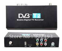 Wholesale Car DVB T2 Receiver MPEG MPEG External Digital TV Box Support km h for russia and UK