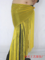 Women stage prop - Belly dancing belt women wear costumes belly dance hip scarf stage prop highlights of cloth tass