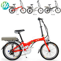 Wholesale Folding electric bike WH quot V250W Lithium polymer V Ah Electric bicycle