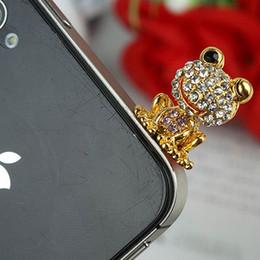 Discount cute anti dust cap Cute Frog 3.5mm Anti Dust Ear Cap for cellphone iPhone iPad Sumsung Free Shipping LM-P004