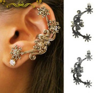 Wholesale Snow Ear cuffs Brand New pierced body jewelry Retro earrings Factory Promotion Price