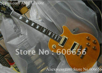 Wholesale new arrival slash Model Electric Guitar yellow Tiger HOT SALE