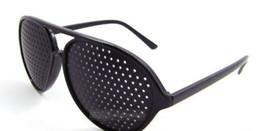 Wholesale Glasses Vision Eyesight Improve Eyes Exercise Black Pinhole