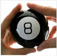 Wholesale Mystic Black ball toys funny toy divination mysterious prophecy magic ball answers in english