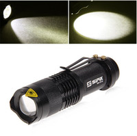 Wholesale SIPIK SK68 W Q3 Mode Small LED Torch AA