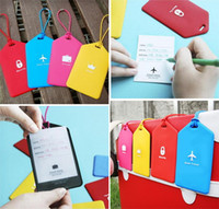 Wholesale Luggage Tag Suitcase Label Bags Tags Credit Card Case Bag Parts Accessories