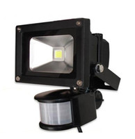 10W Luz de Inundación del PIR, Passive Infrared Sensor de Movimiento LED Floodlight 85~265V Inducción Sentido de la lámpara 1PC