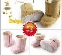 Soft rubber soled boots bab toddler shoes, trail shoes pink boots 1pair