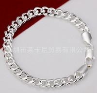 Wholesale very popular women s sterling silver bracelet silver bracelet jewelry YIO87