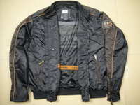 Jackets 100% Nylon Windproof 2013 Men's 110th Anniversary Nylon Outerwear Jacket (97548-13VM), motorcycle jacket