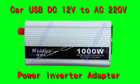 Wholesale 1000W Car USB DC V to AC V Power Inverter Adapter