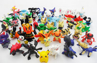 Wholesale New arrival Differnent styles Pokemon Black White Mini Figure Set