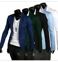 Wholesale New Men s Casual Slim Stylish fit Blazer Coat Jackets