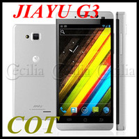 Wholesale MTK6577 jiayu G3 Android Phones dual core inch IPS Screen Android MTK6577 G RAM G GPS WiFi