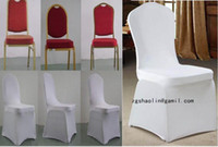 Wholesale white spandex chair cover weddiing chair cover