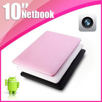 Wholesale 2013 inch VIA laptop Android HDMI Camera GB wifi Netbook Notebook black white pink