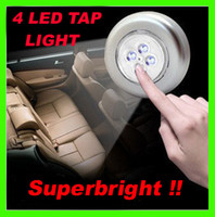 Wholesale Superbright LED Stick on Tap Lights Adhesive Night Push Touch Peel Stick