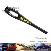 Wholesale Best Portable Hand Held Garrett Super Wand Scanner Metal Detector Degree Detection Comfort Grip