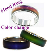 Wholesale MOOD Rings Changes Color to The Temperature of Your Blood Mix Size Ring