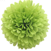 Wholesale 40pcs inch cm Tissue Paper Pom Poms Wedding Party Decor Craft Mix colors uPick
