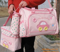 Wholesale 4pcs set Diaper Bags Designer Maternity Nappy Bags Mummy Baby Bag