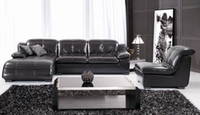 Wholesale Offer modern sectional leather sofa in cow leathe