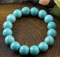 Wholesale 20 Off NEW Style Chinese Turquoise Bead Bracelet mm Min Order Freeshipping