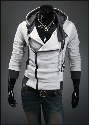Hot New Assassin's Creed 3 Desmond Miles Hoodie Top Coat Jacket