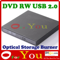 Wholesale DVD RW Burner Writer Optical Drive in USB Slim External Optical Storage Burner oforyou