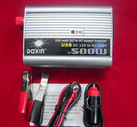Wholesale Brand New W V DC to V AC Car Power Inverter with USB Port