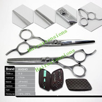 Wholesale KASHO Japan Hair Scissors Cutting scissors and Thinning Scissors Professional Kits inch set New