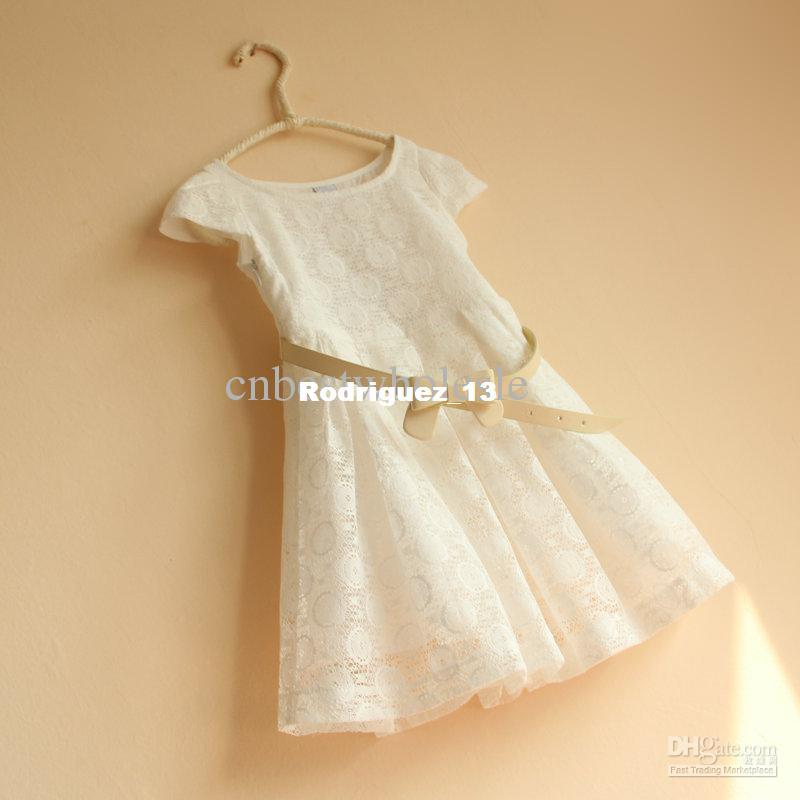 White Lace Dresses For Girls Lace White Dress For Girls