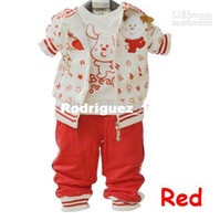 Wholesale coats Baby Boy Suits Ppcs Set Children Long Sleeves Letters Outerwear T Shirt Pants colors TrackSuit