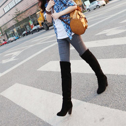 Spring and Autumn new women's high-heeled boots