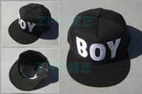 Wholesale New BOY LONDON Snapback Hat Cap Hiphop BOY LONDON Top quality Black White