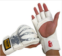 Wholesale Wulong sanda boxing gloves MMA gloves gloves taekwondo playing sandbags gloves fight hands