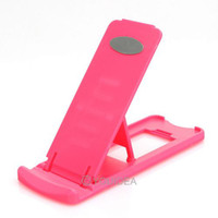 Wholesale 6pcs PINK Compact Folding Stand Holder Support for iPhone Cell Phone hot sale