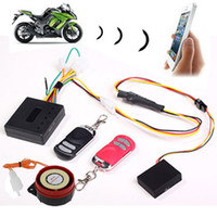 Wholesale V10 GSM Burglar Alarms System GPS LBS Tracker Vehicle alarm apparatus Remote control for motorcycle