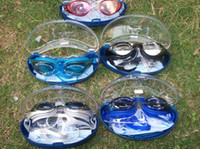 Wholesale adult swimming goggles piece
