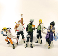 Wholesale Naruto Anime Action Figures Toy per Set