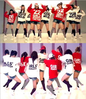 Wholesale KPOP Korea SNSD Girls Generation GG SOSI Clothes Member Hoody Numbers