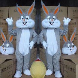 Bugs bunny rabbit mascot costume Foam adult Fancy dress shipping to worldwide