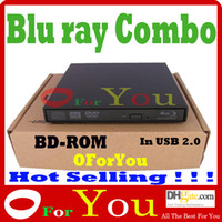 Wholesale Blu ray combo BD ROM USB Slim Portable Blu Ray Combo Player USB BD ROM DVD CD Drive Oforyou