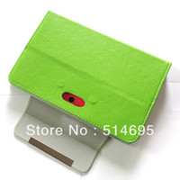 Wholesale newest Black Magic Leather Case Stylus For quot Ainol NOVO7 Aurora II ELF II Tablet PC