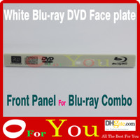 Wholesale Front panel plastic For Blu ray DVDs white blu rya DVDs Face plate high quality Oforyou