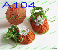 Wholesale baby 0-12m 30pair lot BABY BOOTEES SANDALS CROCHET PATTERN DOLL REBORN