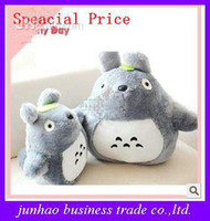Forrest Animals  gray Unisex Hayao Miyazaki Totoro Stuffed Animals Plush Kids Toys Doll Large Pillow Children Girls Gifts Doll