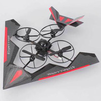 Helicopter Electric 4 Channel 9806 four shaft aircraft stealth fighter 4CH 2.4G remote control RC helicopter and glider 2-in-1