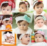 Wholesale 5 Female Baby Fashionable Weave Headbands