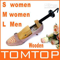 Wholesale Wood Wooden Way Shoe Stretcher Shoes Tree Stretchers freeshipping dropshipping